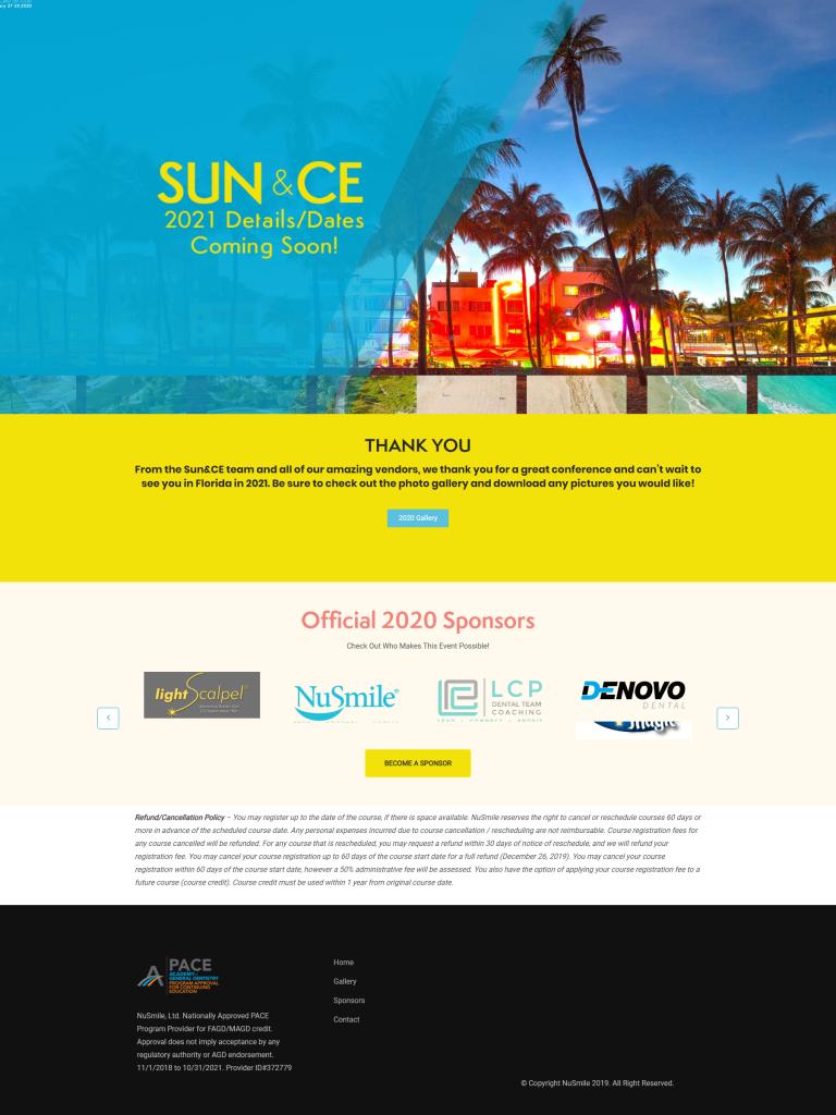 SUN & CE 2020