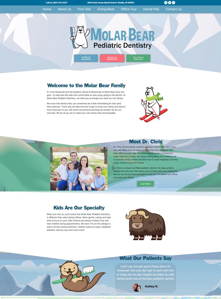 Molar Bear Pediatric Dentistry