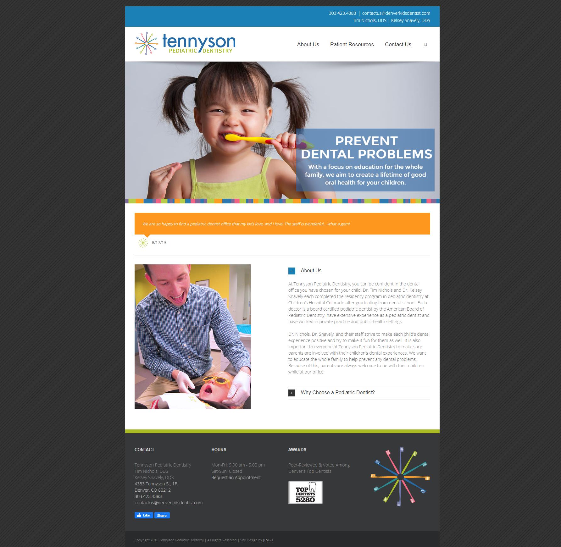 Tennyson Pediatric Dentistry